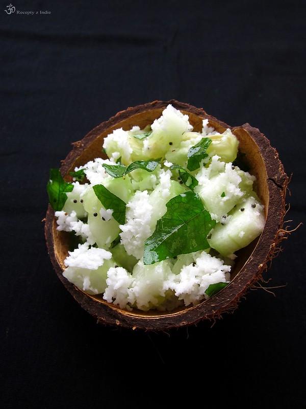 Kokosovo uhorkovy salat