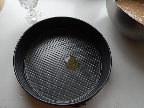 форма с капелькой масла