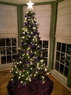 Purple Christmas Tree 2014