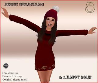 SYSY's-SweaterChristmasdressgift
