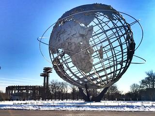 The Unisphere - World Fair - Flushing Meadows Park