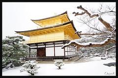 日本京都-金閣寺-雪.62
