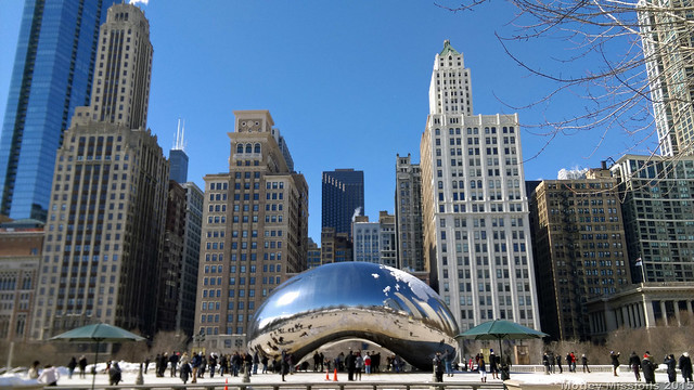 bean and buildings
