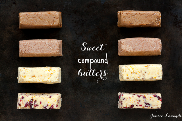 sweet compound butters | Janice Lawandi @ kitchen heals soul