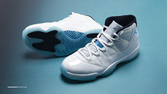 AIR JORDAN XI LEGEND BLUE