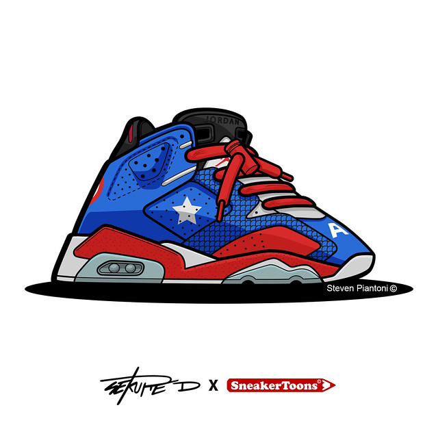 Sekure D x SneakerToons Collaboration