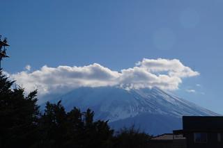 028 Mount Fuji vanaf lunchadres