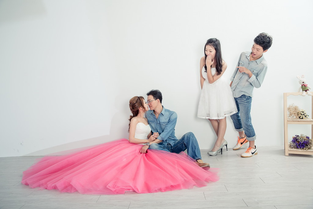 雅妃全家福,朱志東 ,雅妃 Sonia ,ES wedding 攝影棚,ES wedding,游懿庭