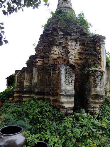 Magical Ruins in the Town of Nyaung Shwe on Inle Lake