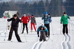 SNĚHOVÉ ZPRAVODAJSTVÍ: Zima moc nepřeje, ale vyrazit na běžky lze