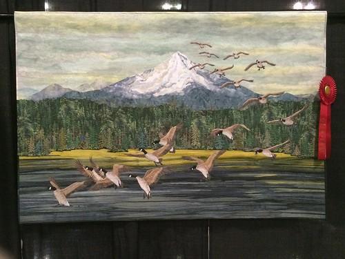 """""""The Landing"""" by Joanne Baeth of Bonanza, OR"""