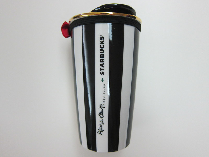 Starbucks alice + olivia Design Collection - Ceramic Mug Back