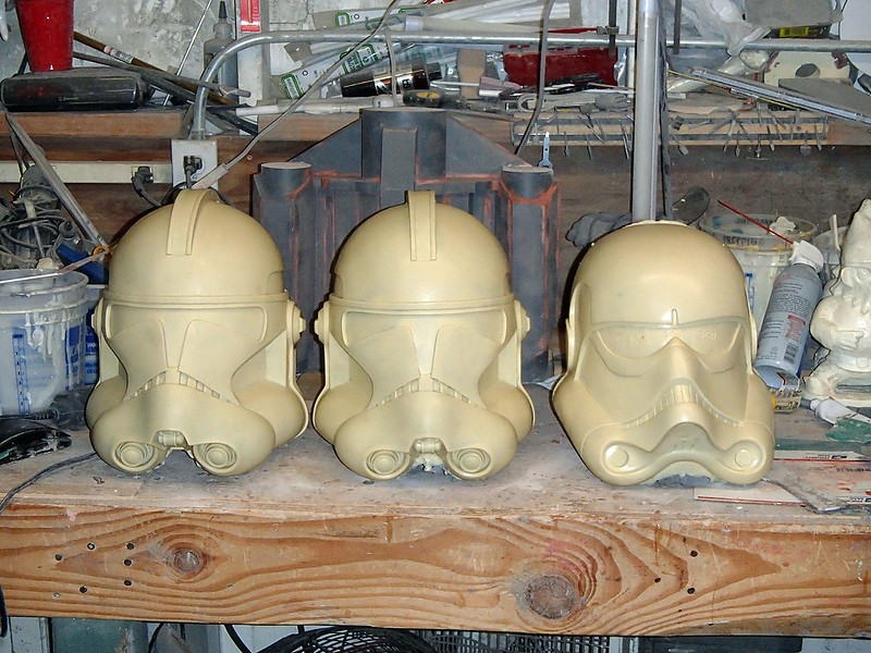 SGB Helmets Awaiting Progress