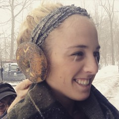 Bagels are so versatile! Need some earmuffs? We've got you covered.