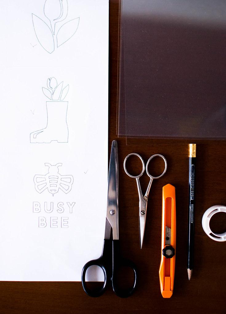 DIY Cappuccino Stencils.