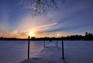 Circle Of Life - The winter rainbow