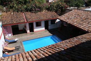 Lazybones Hostel.  Leon, Nicaragua.