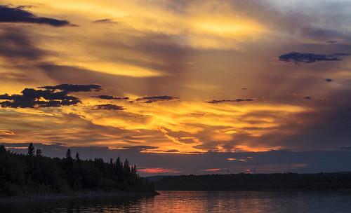 sunset canada calgary reservoir canon5d glenmore