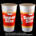 McDonald's - Super Size drink soda cup package - circa 1987 by JasonLiebig