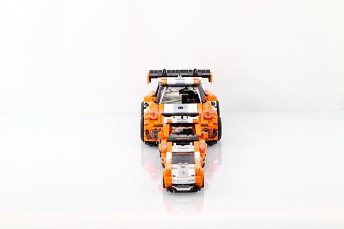 LEGO Porsche 911/997 GT3 Hybrid