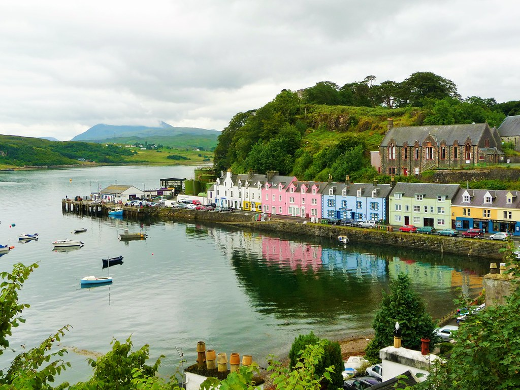 Visit Portree Skye Scottish Tour Guide 39 S Blog