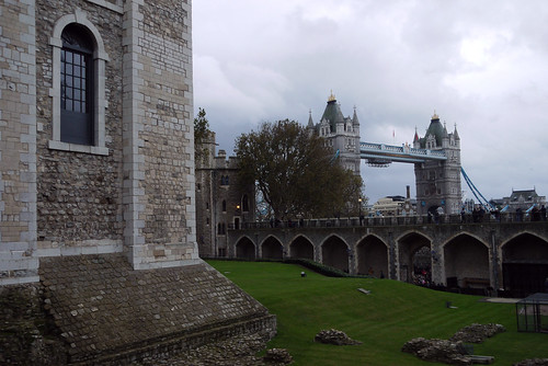 Tower Bridge Viewed from The Tower