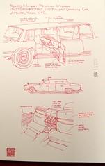 "251. Robert Morley: ""Pompous Windbag""   1967 Mercedes-Benz 600 Pullman Smoking Car"
