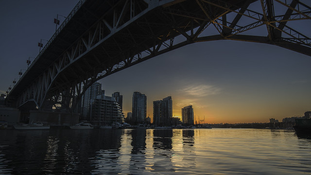 Granville Bridge at Sunrise