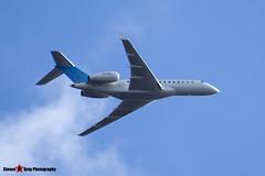 VP-BVM - 9512 - Private - Bombardier BD-700-1A10 Global 5000 - Luton M1 J10, Bedfordshire - 2015 - Steven Gray - IMG_4779