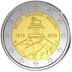 Belgium 2 Euro 2015 Waterloo