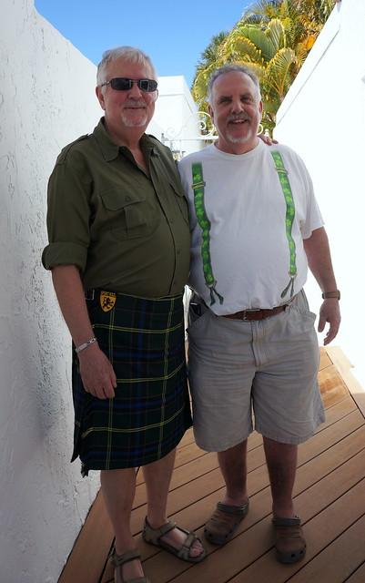 two leprechauns at my door