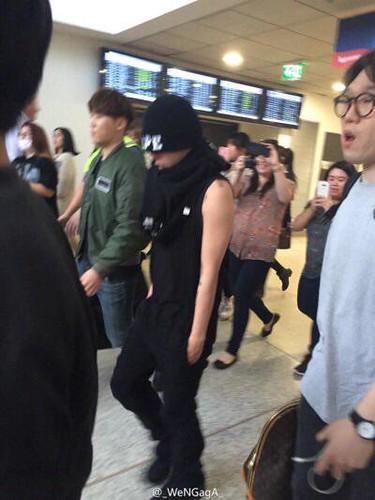 BIGBANG Melbourne Arrival 2015-10-20 (3)