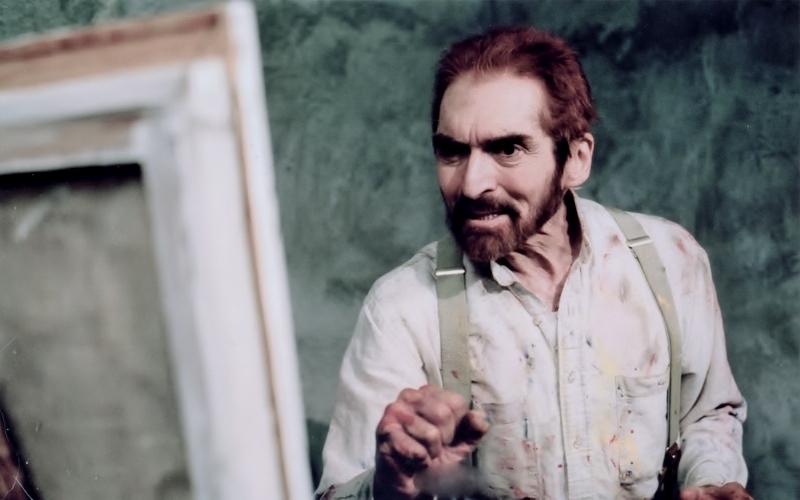 Alexander Barnett films Eyes of Van Gogh Please with his work Alexander Barnett Room in asylum