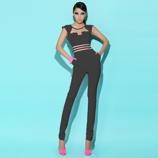 Sexy-Jumpsuit-Pants-Women-Mesh-Patchwork-Bodycon-Ladies-Rompers-Pink-Black-White-Bodysuit