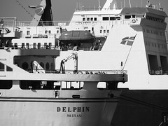 ETS cruise ship 'Delphin' (and 'Ulusoy 5'), Çeşme, Turkey