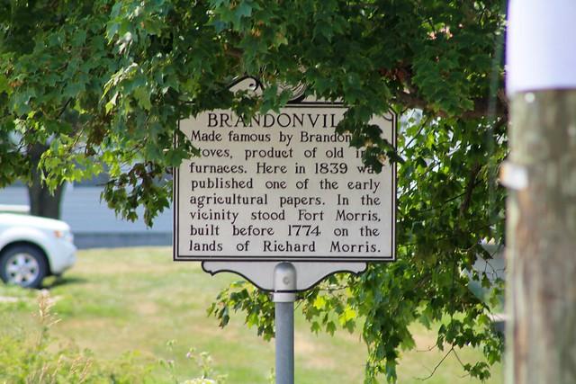 Brandonville Historical Marker - Brandonville, WV