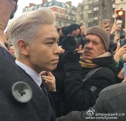 TOP - Dior Homme Fashion Show - 23jan2016 - liyuntao - 09