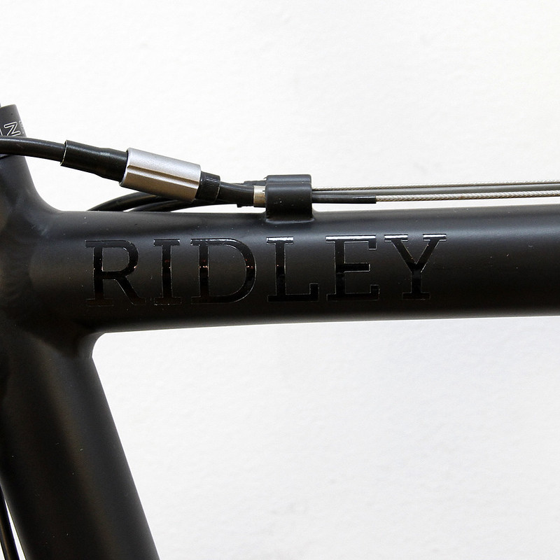 RIDLEY FRAME SET CUSTOM PAINT BY SWAMP THINGS