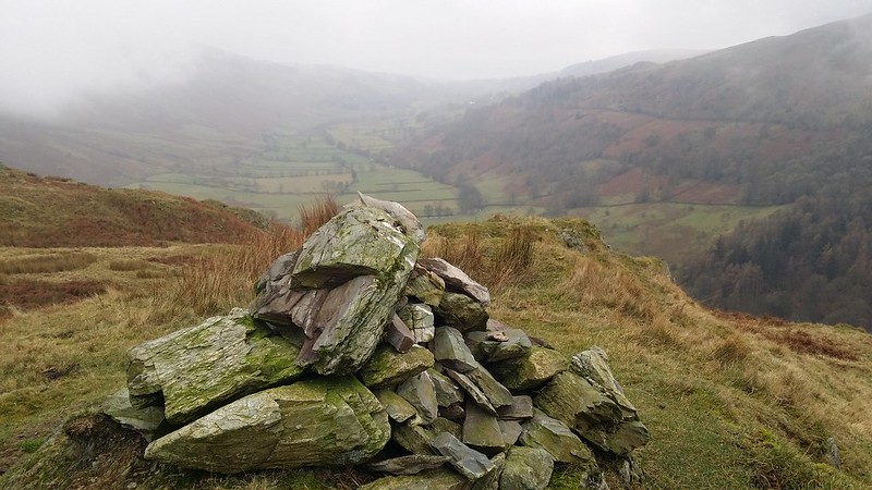 View from the cairn, Troutbeck Tongue #sh