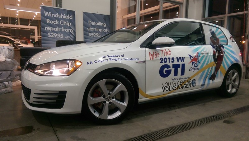 2014-15 Raffle Volkswagen GTI