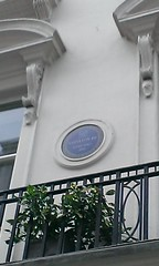 Photo of Louis-Napoléon Bonaparte blue plaque
