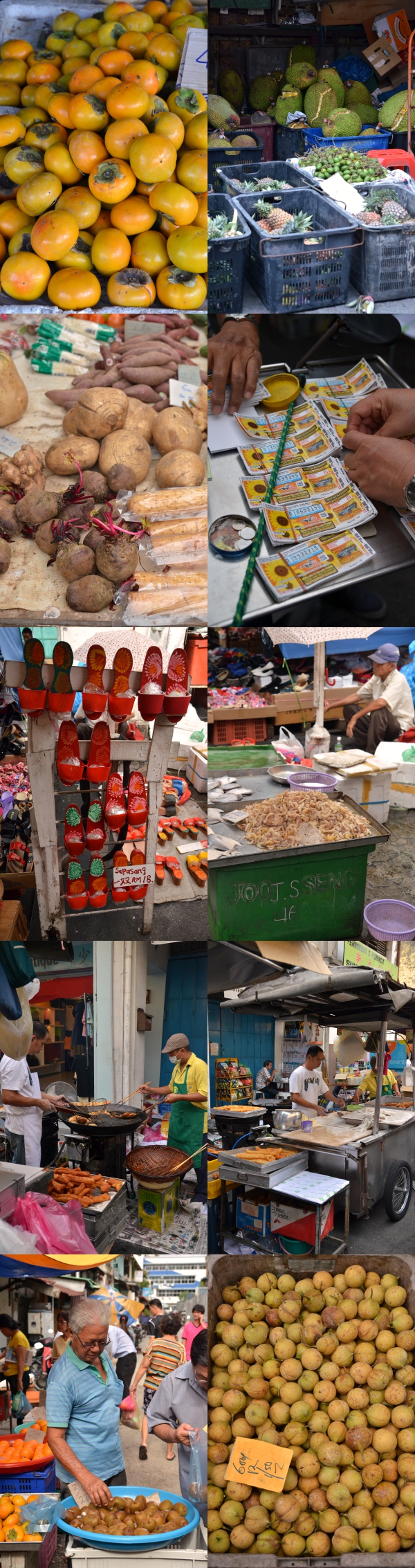 Penang Road Market
