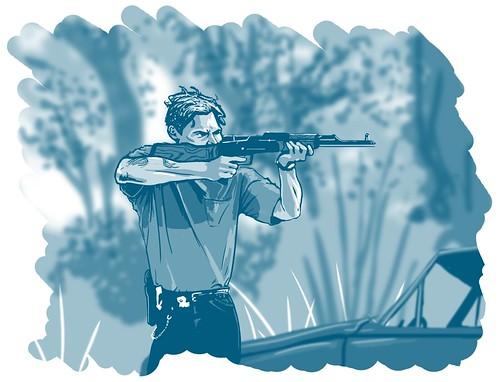 True Detective : Shooting
