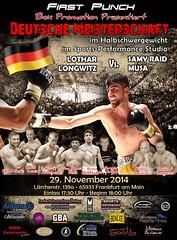 Samy Raid Musa boxt um die Deutsche Meisterschaft