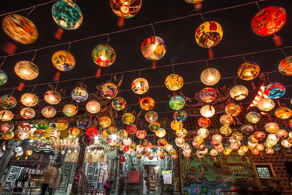 台南私藏景點-普濟殿燈會 (10)