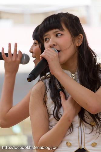 「Honda 車出張展示会」での山口活性学園の上田咲花と山塚はるの