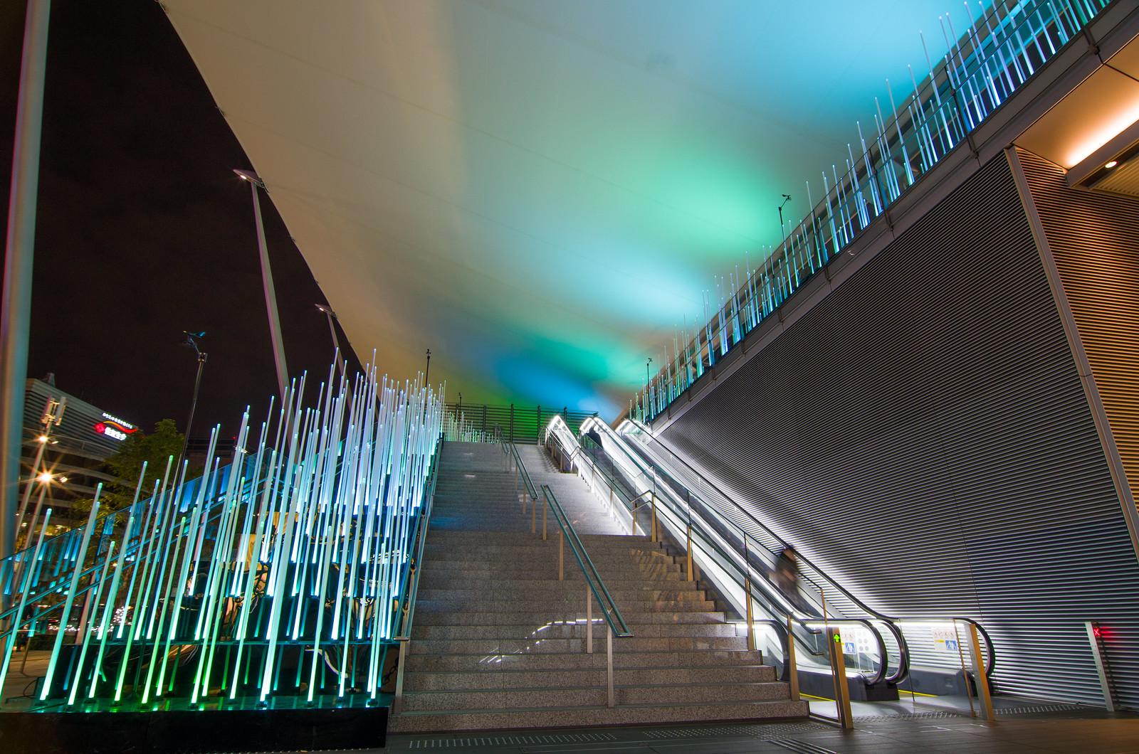 """東京駅グランルーフ """"Tokyo colors."""" イルミネーション / Tokyo Station GranRoof Illumination """"Tokyo colors."""""""