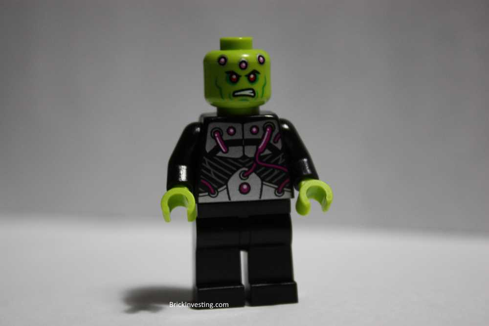 Brainiac Minifigure 76040