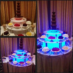Can we say CHOCOLATE FOUNTAIN!?  #VintageVegasNight #1950s #OnlyInTheRanch #ValleyRanchIrvingTexas #ValleyRanch #Casino #Gambling #FunTimes #2015 #Poker #PokerFace #Chocolate #Fountain