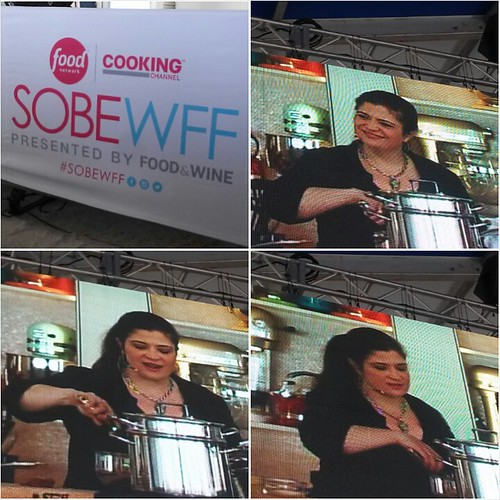 SOBEWFF Celebrity Chef Cooking Demos